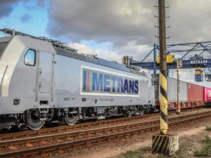 Metrans Bombardier TRAXX locomotive
