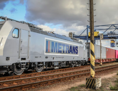Bombardier Delivers 40th TRAXX MS2 Locomotive to Metrans