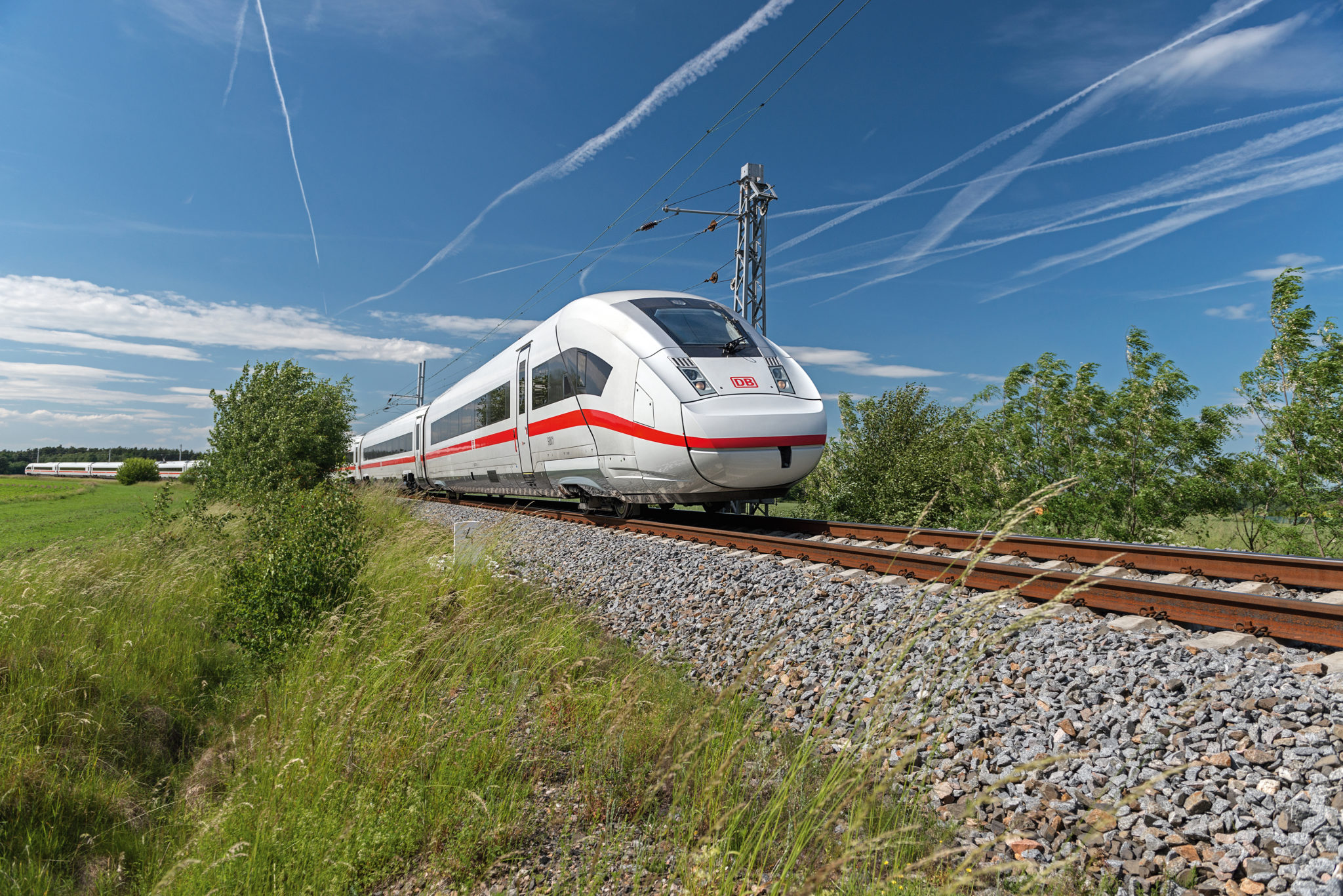 DB ICE 4 trains are the flagship high-speed long-distance trains in Germany