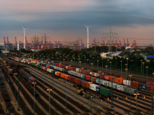 Rail Cargo Group freight train