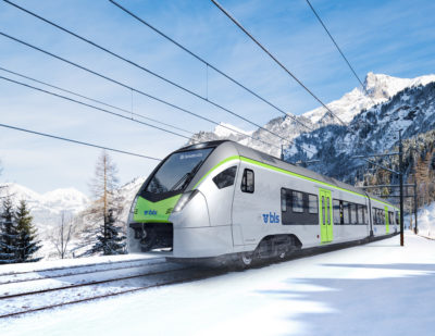 Stadler GUARDIA Train Control System to be Installed on Swiss FLIRT Trains