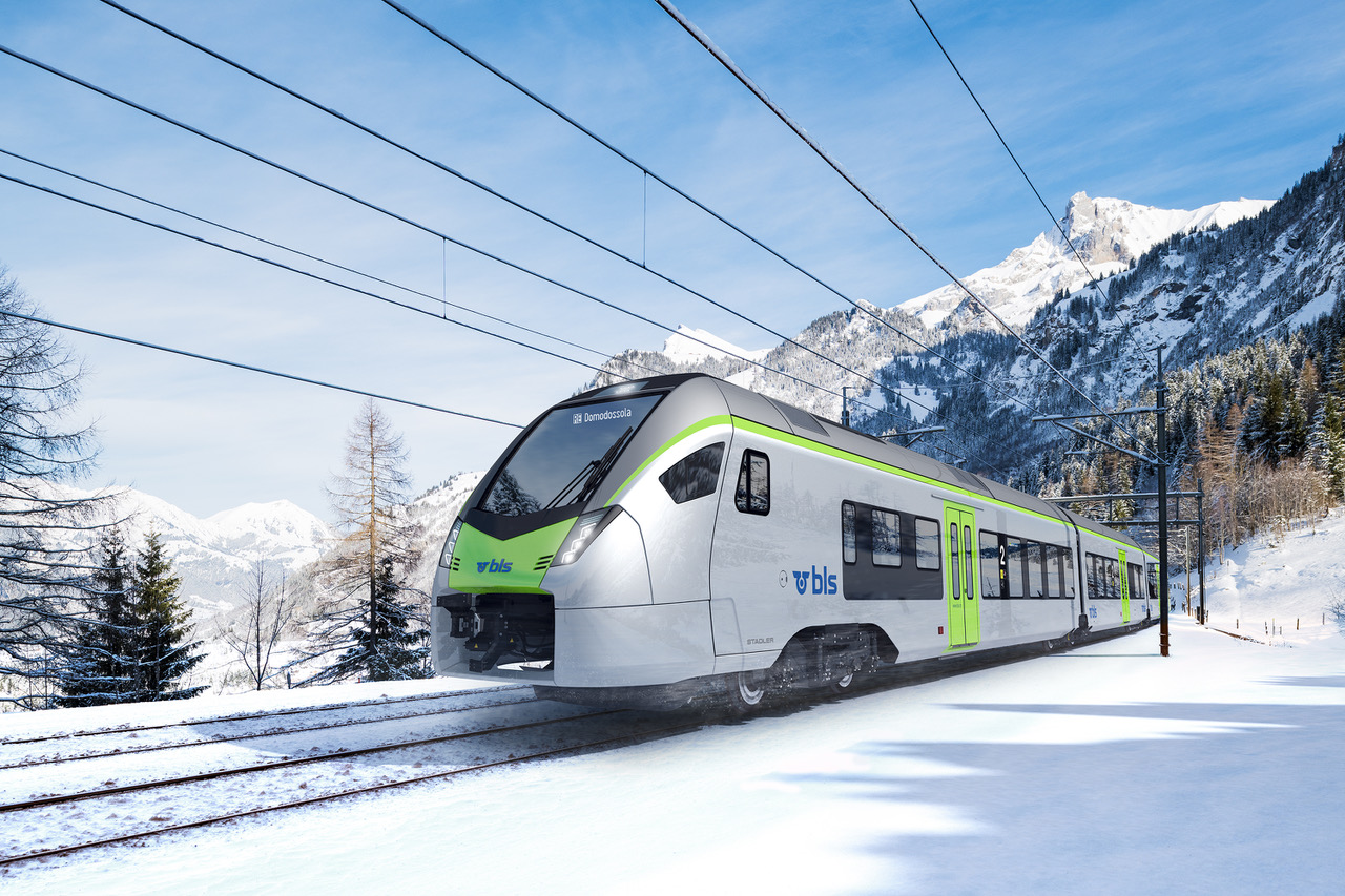 BLS FLIRT with GUARDIA train control system