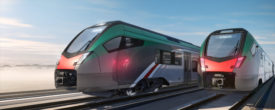 Stadler regional diesel-electric train for FNM