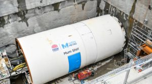 Second TBM Enters Service for Sydney Metro Project
