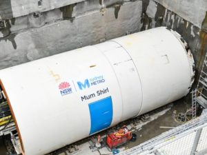 Tunnel Boring Machine Mum Shirl