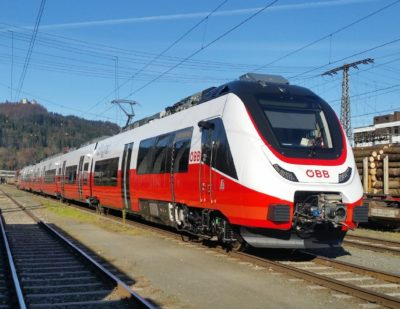 First OEBB Cityjet TALENT 3 Arrives in Austria
