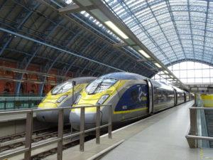 Siemens Velaro Eurostar e320