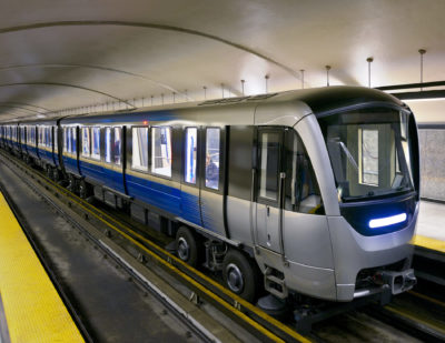 Alstom-Bombardier Consortium to Supply 153 AZUR Metro Cars to Montreal