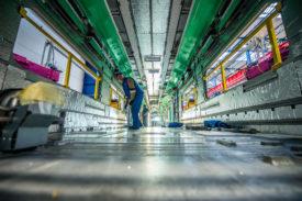 Coradia Stream Production Line - interior