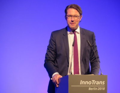 Germany at InnoTrans 2018