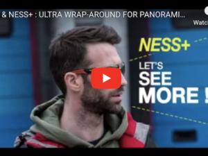 Ultra Wrap-Around Safety Glasses