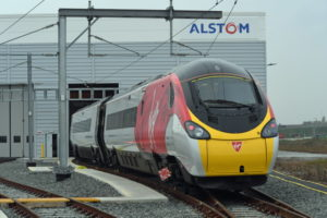 Milestone for Alstom: 28th Repainted Pendolino Leaves Facility in Widnes