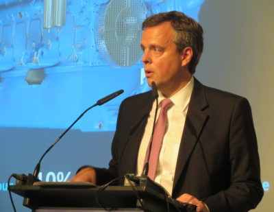 GE Transportation at InnoTrans 2018: President and CEO Rafael Santana