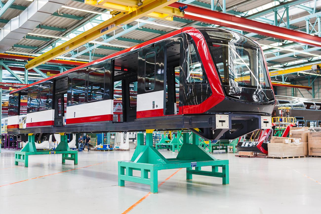 Siemens G1 metro trains for Nuremberg
