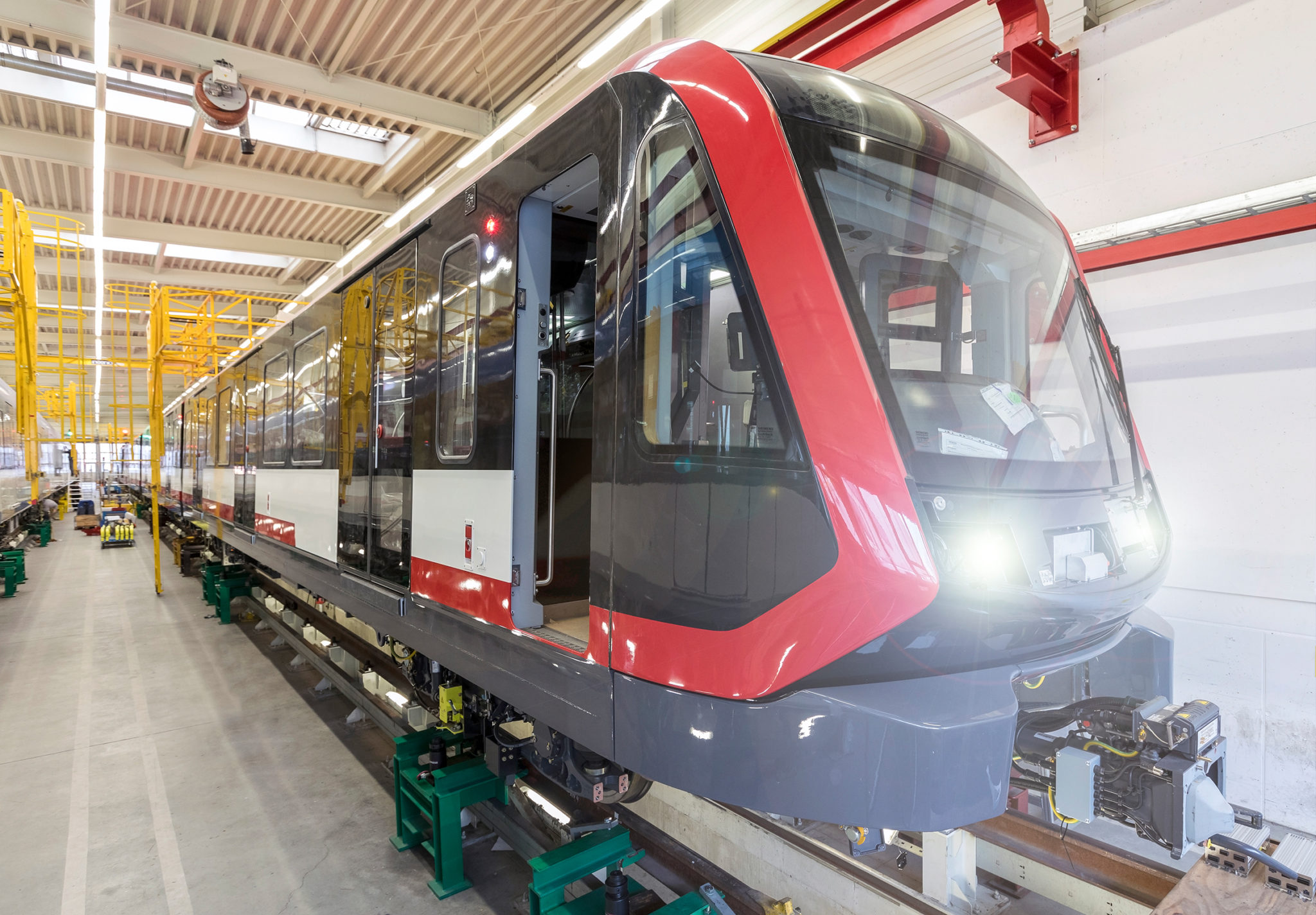 Siemens G1 metro trains for Nuremberg