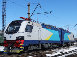 KZ8A freight locomotive
