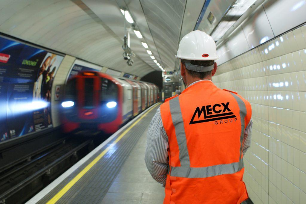 MECX working on London Underground