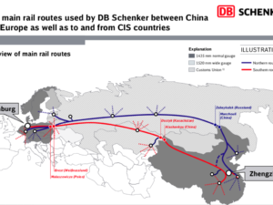 Rail Freight Link Between Germany and China