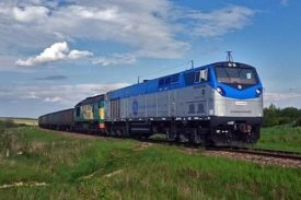 GE Transportation TE33A Locomotive