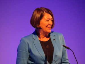EU Commissioner for Transport Violeta Bulc