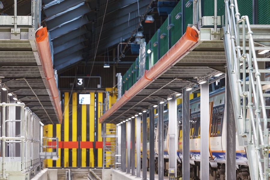 Rail Depot Safety Interlocking System