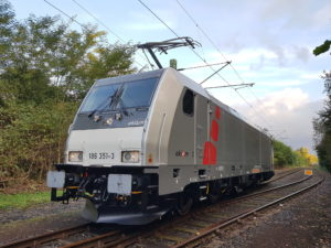 TRAXX locomotive