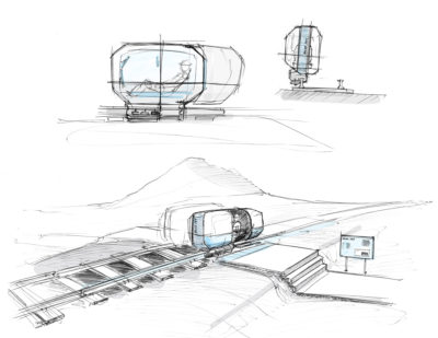 German Mobility Award Winner CountryCab – Gyro-Stabilised Monocabs
