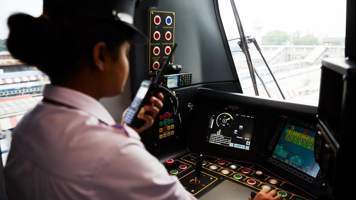 Alstom CBTC signalling system Urbalis 400