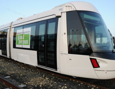 Grand Avignon Gets Its First Alstom Citadis X05 Tram