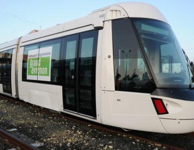 Grand Avignon Gets Its First Alstom Citadis X05 Tram