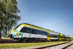 Bombardier battery electric train TALENT 3