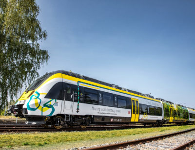 Battery Electric Train by Bombardier Wins German Innovation Award