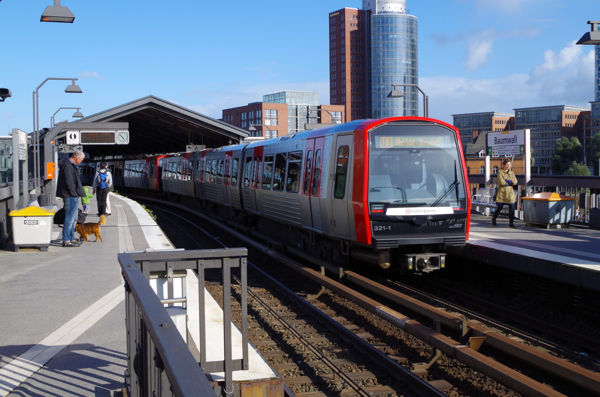 DT5 metro in Hamburg