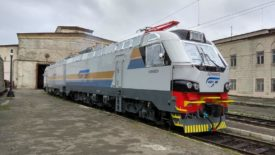 The first of the Prima T8 freight locomotives type AZ8A