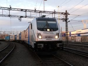 One of the BOMBARDIER TRAXX 3 Locomotives for Railpool