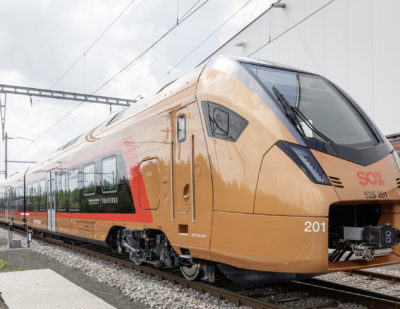 Stadler Lands Contract for 12 Additional FLIRT Traverso Trains for Switzerland