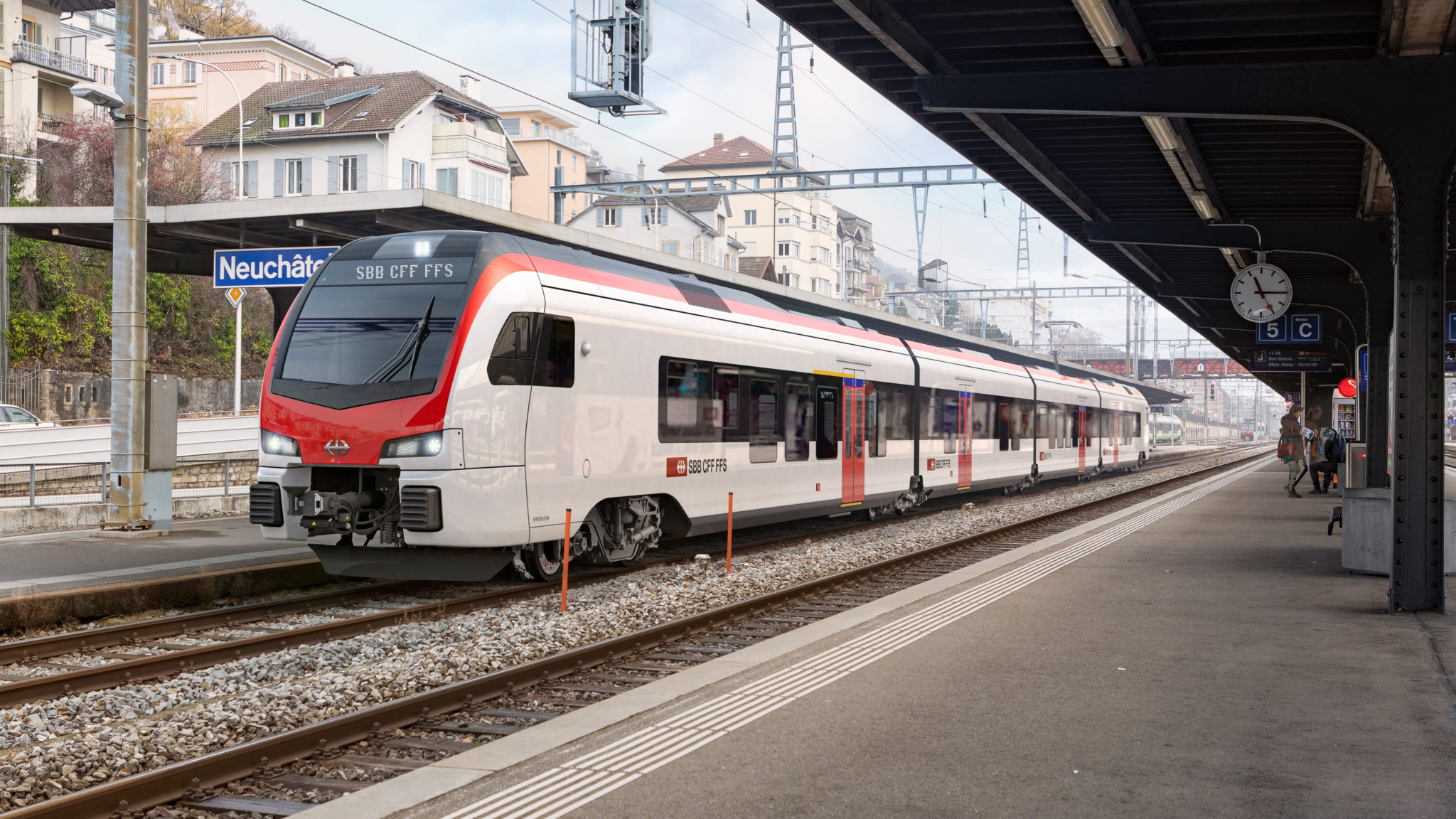 One of the Stadler 'Mouette' FLIRT Trains for SBB