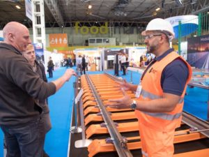 British Steel Track at Railtex