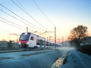 Stadler 'TILO' Ticino Lombardy train (rendering)