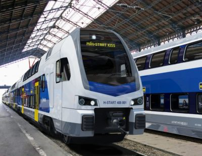 Stadler to Supply 8 Additional Double-Decker KISS Electric Multiple Units to Hungary