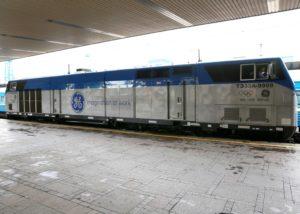 First GE Transportation Evolution Series Locomotive Enters Service in Ukraine