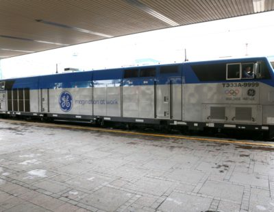 First GE Transportation Evolution Series Locomotive Enters Service in Ukraine