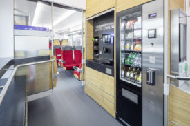 Bistro in the new Traverso trains