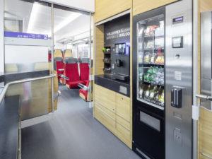 Bistro in the new Traverso trains