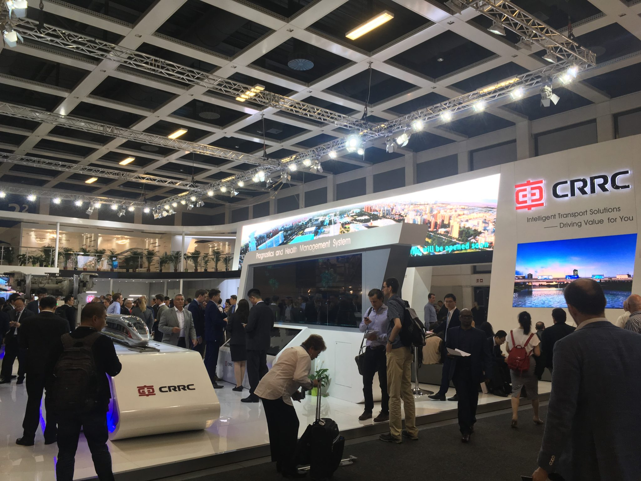 CRRC at InnoTrans 2018