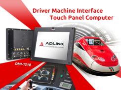 Driver Machine Interface Touch Panel Computer for Train Control and Rail Signaling