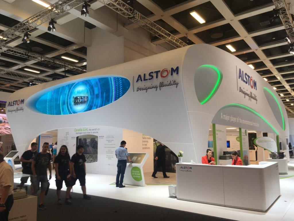 Alstom booth InnoTrans 2018