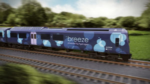 Design for the refurbished Class 321 hydrogen trains