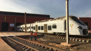 First trip for Alstom's Coradia Polyvalent in Senegal