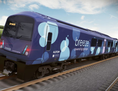 Alstom and Eversholt Rail Reveal New Hydrogen Train Design for the UK